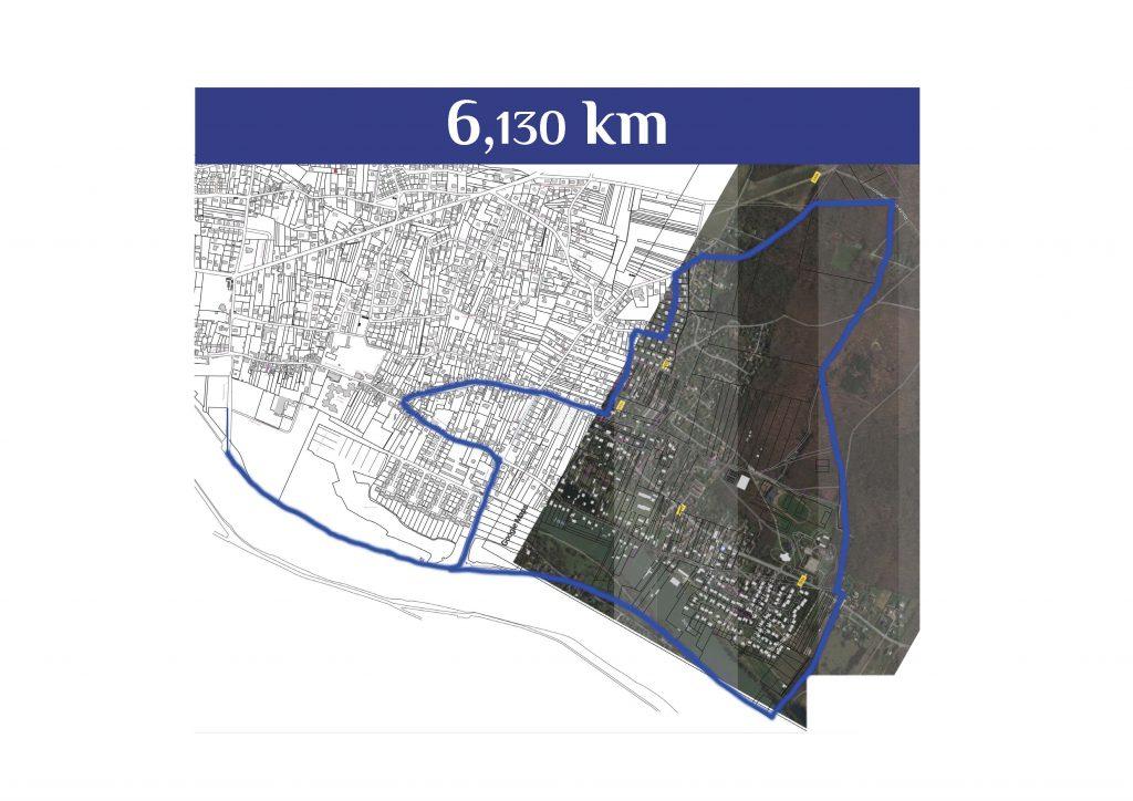 Plan Parcours 6km Saintry